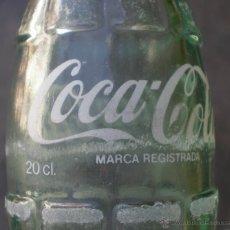Botellas antiguas: BOTELLA REFRESCO COCA-COLA -VARIANTE 20 CL.- SERIGRAFIADA. Lote 42219162