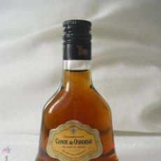 Botellas antiguas: BRANDY CONDE DE OSBORNE SOLERA . MINI BOTELLA, BOTELLIN MINIATURA BOTELLITA.MINIBOTELLA. Lote 42371033