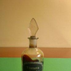 Botellas antiguas: BOTELLA FARMACIA TINTURA COLOMBO. Lote 42544570