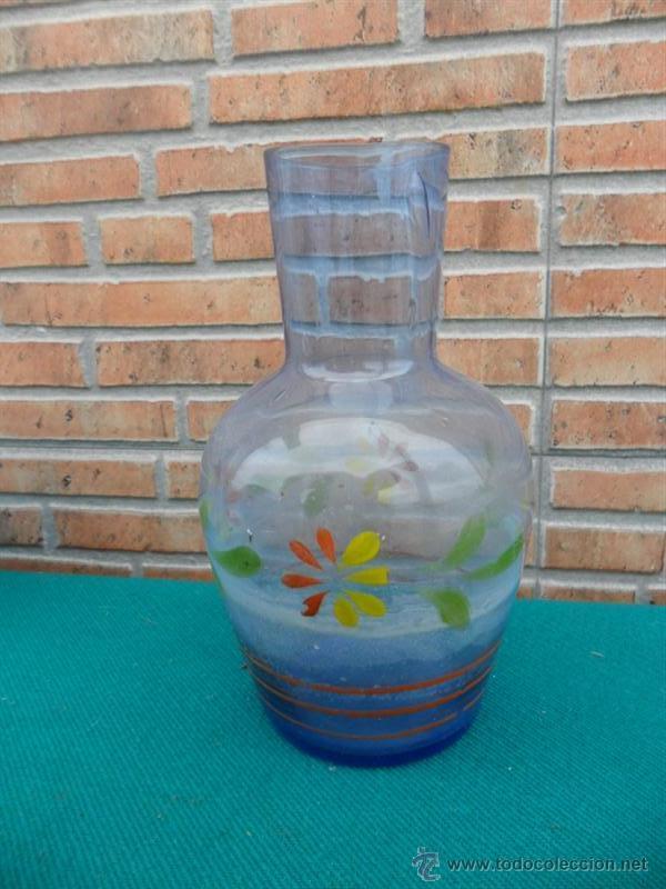 Botellas antiguas: botella cristal al agua - Foto 2 - 42685990