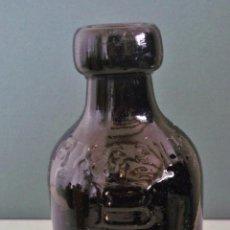 Botellas antiguas: BOTELLA INGLESA DE CERVEZA DE JENGIBRE - BATEY SUPREMA (17CM APROX). Lote 42753195