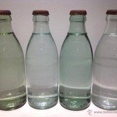 Botellas antiguas: LOTE DE 4 BOTELLAS ANTIGUAS DE AGUA LANJARON, DIFERNTES MODELOS. Lote 42951557