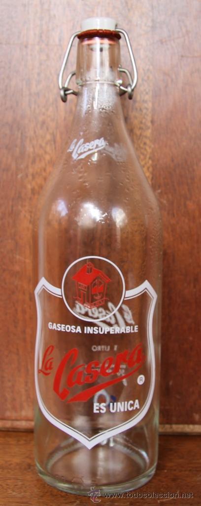 BOTELLA LA CASERA EDICION ESPECIAL 50 ANIVERSARIO (Coleccionismo - Botellas y Bebidas - Botellas Antiguas)