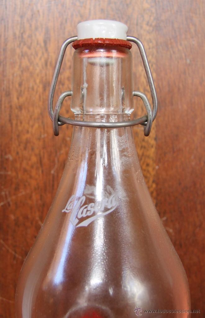 Botellas antiguas: BOTELLA LA CASERA EDICION ESPECIAL 50 ANIVERSARIO - Foto 6 - 42980512