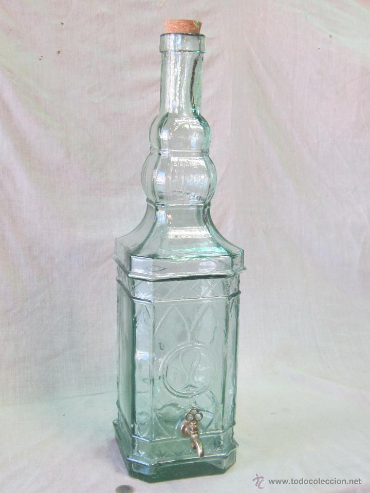 Botella grande de cristal con grifo comprar botellas antiguas en todocoleccion 43152706 - Cristal climalit precio ...