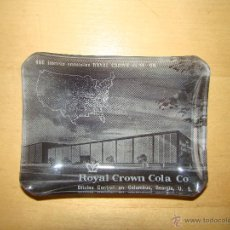 Botellas antiguas: ANTIGUO CENICERO ROYAL CROWN COLA CO.. Lote 43545648
