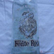 Botellas antiguas: BOTELLA FONTE ROCA, 1 LITRO. Lote 43834039