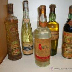 Botellas antiguas: BOTELLA ANIS EL CLAVEL AÑO 70. Lote 44065936
