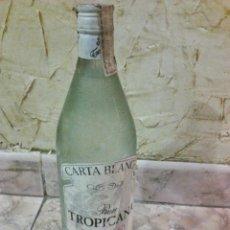 Botellas antiguas: ANTIGUA BOTELLA RON TROPICANA 1 LITRO CARTA BLANCA SIN ABRIR.VER FOTOS ADICIONALES.. Lote 44078481