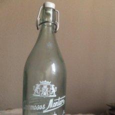 Botellas antiguas: BOTELLA GASEOSA ESPUMOSOS MONTORO OCAÑA ( TOLEDO ). Lote 44302045