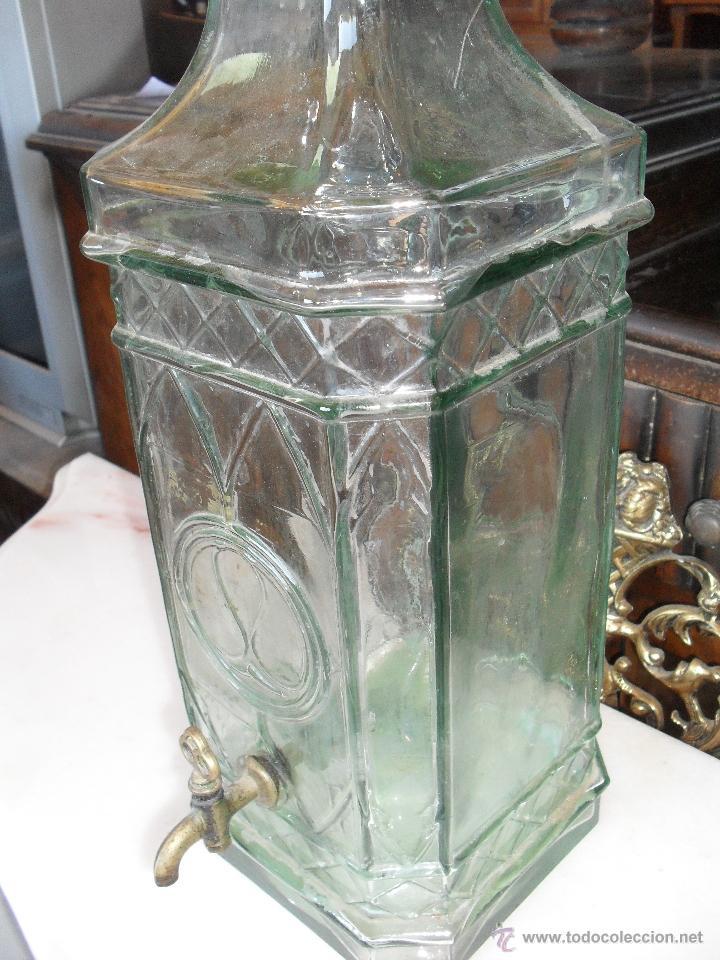Grande botella de cristal con grifo comprar botellas - Grifos de cristal ...