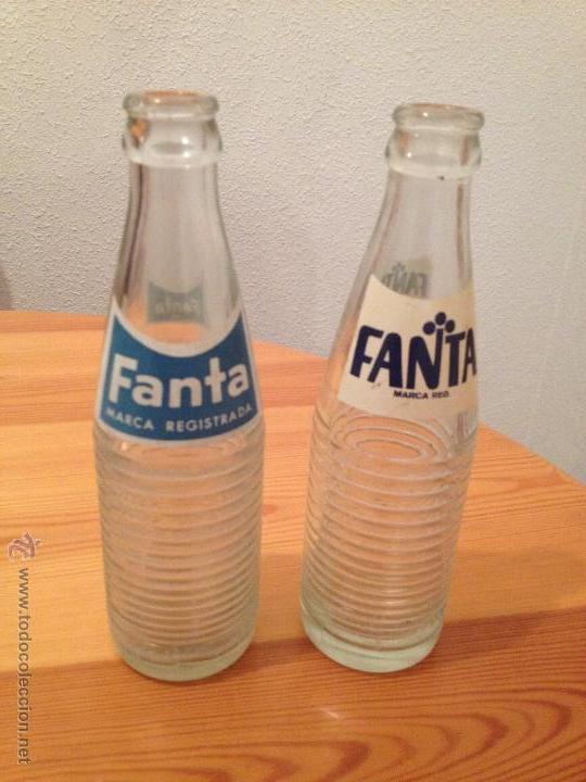 BOTELLA DE FANTA AÑOS 70 (Coleccionismo - Botellas y Bebidas - Botellas Antiguas)