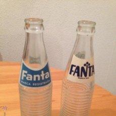 Botellas antiguas: BOTELLA DE FANTA AÑOS 70. Lote 48981022