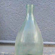 Botellas antiguas: ANTIGUA BOTELLA DE CRISTAL DE AGUA DE SOLARES.. Lote 45153215