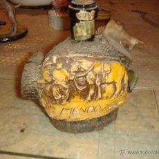 Botellas antiguas: BOTELLA DE LICOR DE MENDOZA. Lote 45388510