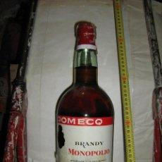 Botellas antiguas: BOTELLA BRANDY 2 LITROS MONOPOLIO, INMACULADA , PERFECTA, SE VENDE TAL CUAL.RARISIMA. Lote 45645696