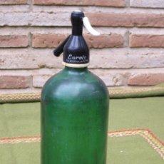 Botellas antiguas: SIFON ANTIGUO MARCA LORETO - TALAVERA DE LA REINA.. Lote 45712698