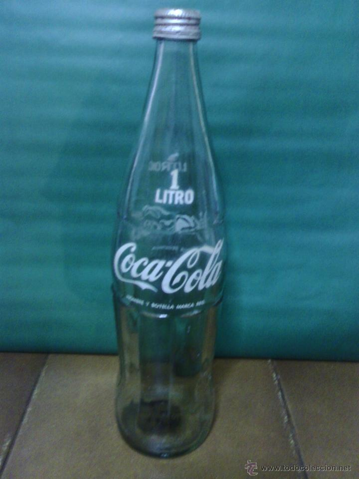 Botella De Coca Cola De Cristal 1 Litro Con Tap Sold Through Direct Sale 45746104