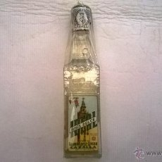 Botellas antiguas: BOTELLITA ANÍS DULCE (LA GIRALDA) IDEAL, CAZALLA DE LA SIERRA. Lote 45909784