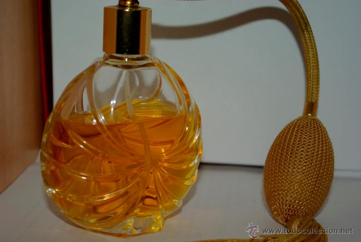 VINTAGE CRYSTAL PERFUME BOTTLE, VCA CRYSTAL, ATOMIZER PERFUME BOTTLE, MADE  IN FRANCE,