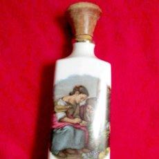 Botellas antiguas: PRECIOSA BOTELLA DE PORCELANA. Lote 46427624