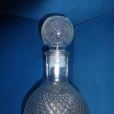 Botellas antiguas: BOTELLA DE LICOR CON TAPON.. Lote 47318810