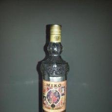 Botellas antiguas: BOTELLA VACIA MIRO - VINO DE MISA -. Lote 47691929