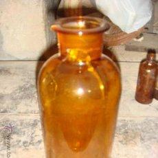 Botellas antiguas: ANTIGUA BOTELLA DE CRISTAL HECHA A MANO. DE LOS AÑOS 20. Lote 27703271