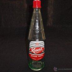 Botellas antiguas: ANTIGUA BOTELLA DE GASEOSA KONGA. Lote 48386729