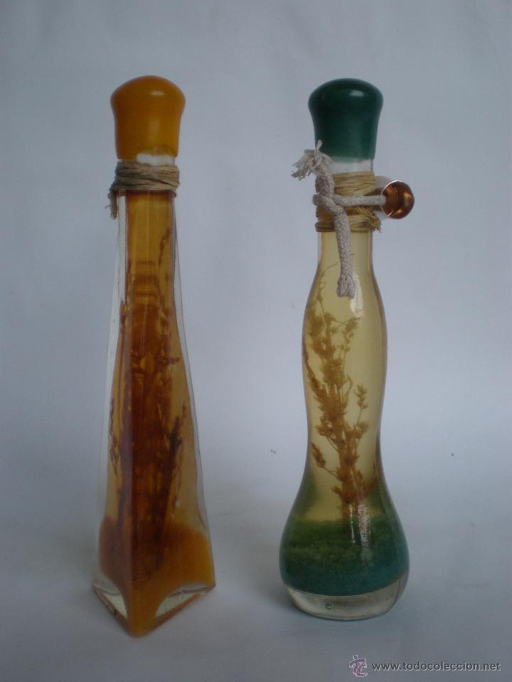 Juego 2 botellas vintage con decoraci n interio comprar - Comprar decoracion vintage ...