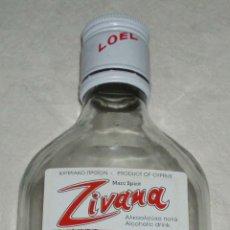 Botellas antiguas: BOTELLA CRISTAL ZIVANA VACIA. Lote 49448541
