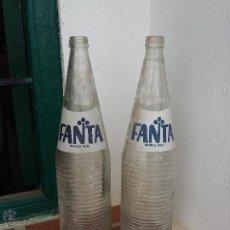 Botellas antiguas: BOTELLA DE LITRO FANTA AÑOS 70. Lote 49488614