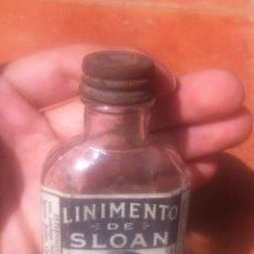 Botellas antiguas: LINIMENTO DE SLOAN / BOTELLA BOTELLIN. Lote 49510925