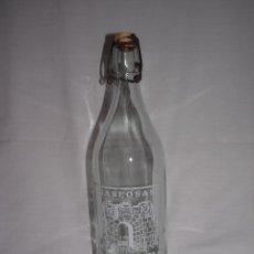 Botellas antiguas: BOTELLA DE GASEOSA - C. CASTRO. CAMILO CASTRO - 1 LITRO. Lote 49952595