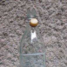 Botellas antiguas: BOTELLA 1L, GASEOSA BRUNY - VIGO- LIMPIA TAPON PASTA SIN MARCA, LIMPIA FTE Nº 4120 + INFO.. Lote 144652138