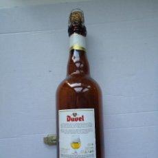 Botellas antiguas: BOTELLA DE CERVEZAS DUVEL BELGICA. 750ML. MEDIDAS. ALTO 32,CTS.. Lote 50403946