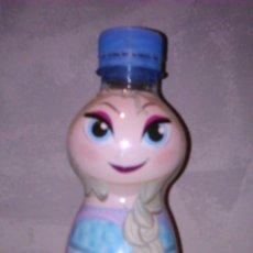 Botellas antiguas: BOTELLA DE PLÁSTICO VACÍA DE FONT VELLA 33 CL. · ELSA, PERSONAJE DE FROZEN. Lote 80120695