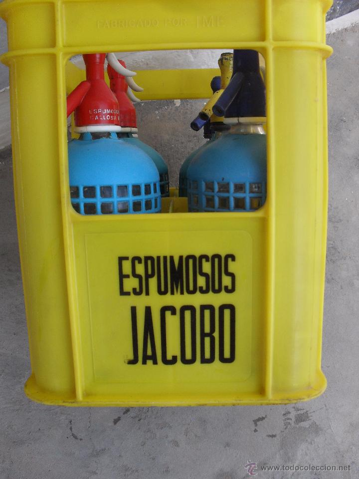 Botellas antiguas: CAJA DE ESPUMOSOS JACOBO CALLOSA DEL SEGURA ,ALICANTE - Foto 3 - 50584783