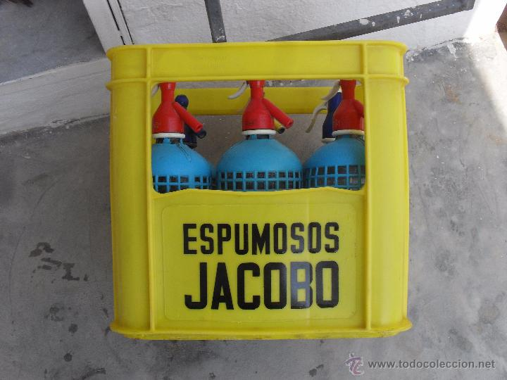 Botellas antiguas: CAJA DE ESPUMOSOS JACOBO CALLOSA DEL SEGURA ,ALICANTE - Foto 4 - 50584783