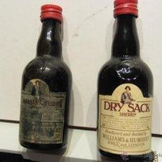 Botellas antiguas: BOTELLIN MINIATURA DRY SACK . Lote 50728607
