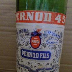 Botellas antiguas: BOTELLA VACIA PERNOD 45 MIRA LAS FOTOS. Lote 50945887