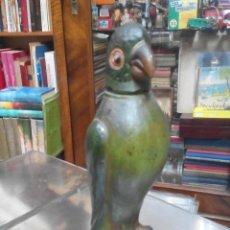 Botellas antiguas: ANTIGUA BOTELLA DESTILERIA EL LORITO. Lote 51158605