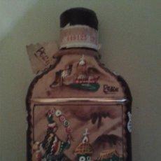 Botellas antiguas: BOTELLA INKAS DE PERU,(MOSTO DE UVA)NUNCA ABIERTO,MUY BIEN DECORADA.. Lote 51411750
