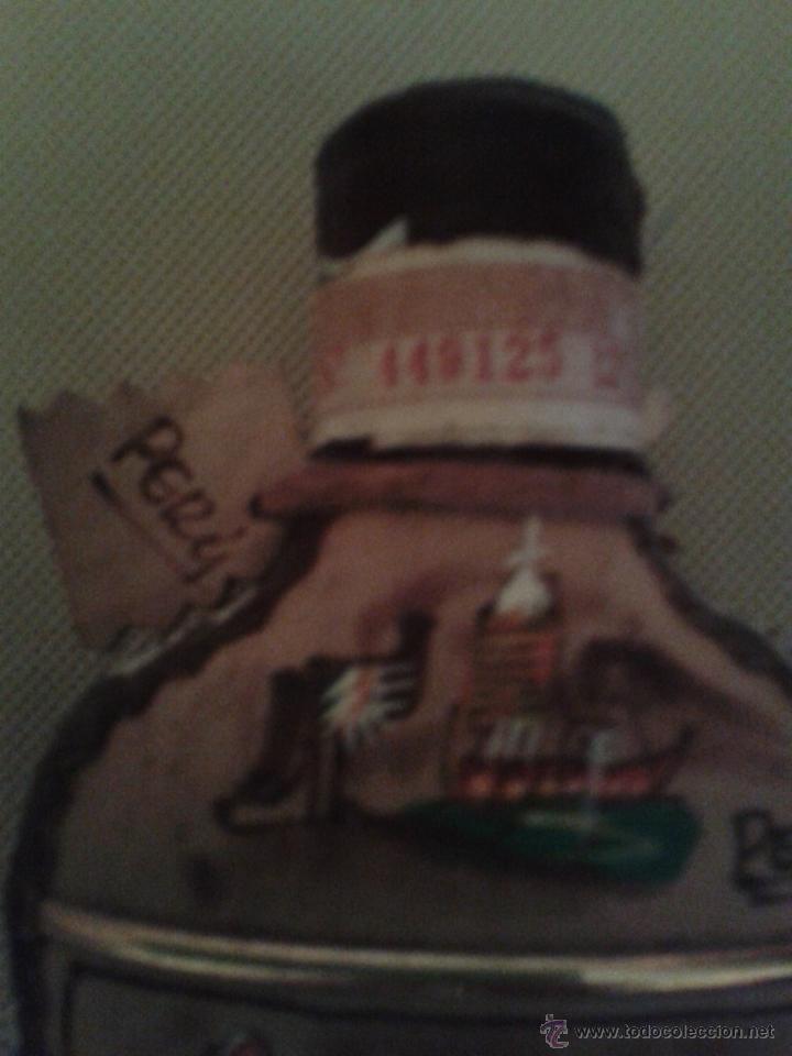 Botellas antiguas: BOTELLA INKAS DE PERU,(MOSTO DE UVA)NUNCA ABIERTO,MUY BIEN DECORADA. - Foto 3 - 51411750