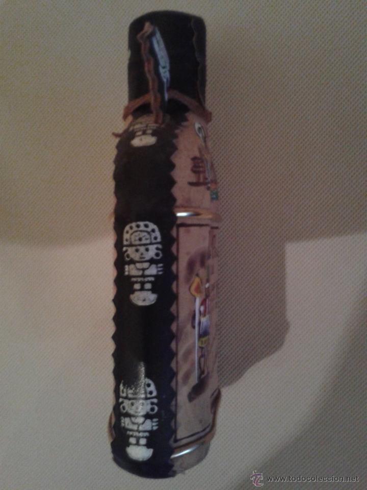 Botellas antiguas: BOTELLA INKAS DE PERU,(MOSTO DE UVA)NUNCA ABIERTO,MUY BIEN DECORADA. - Foto 4 - 51411750