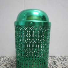 Botellas antiguas: ANTIGUO PROTECTOR SIFON COLOR VERDE. Lote 51525111