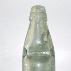 Botellas antiguas: ANTIGUA BOTELLA BOLA O BOLICHE, VAZQUEZ DEL SAZ MADRID. Lote 51545758