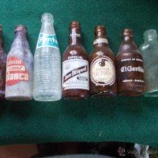Botellas antiguas: BOTELLAS ANTIGUAS LOTE. Lote 52383597