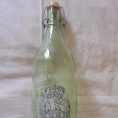 Botellas antiguas: BOTELLA GASEOSA FONTE ROCA DE XINZO PONTEAREAS. Lote 52959231