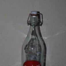 Botellas antiguas: BOTELLA DE GASEOSA REVOLTOSA - 1 LITRO. Lote 52968657